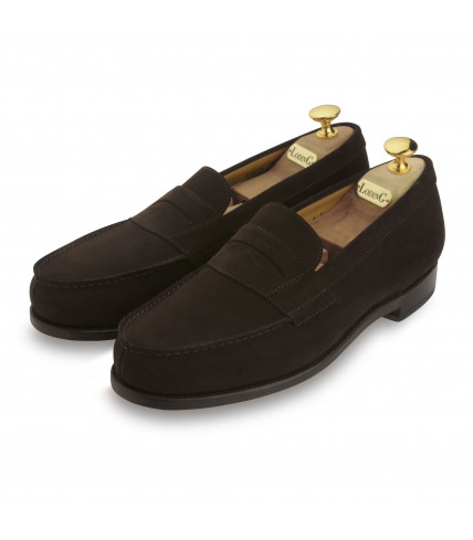 Penny Loafers Sulky 300 suede - Brown