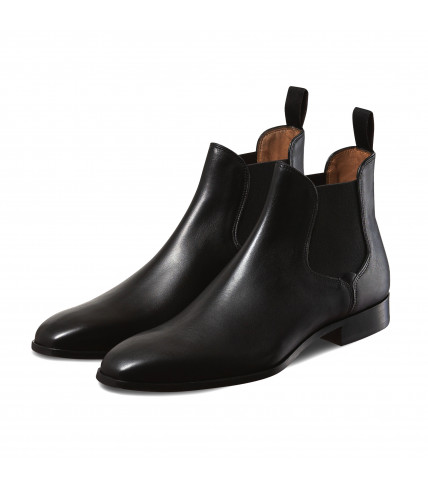 Bottines Chelsea noires Giuliano 1007