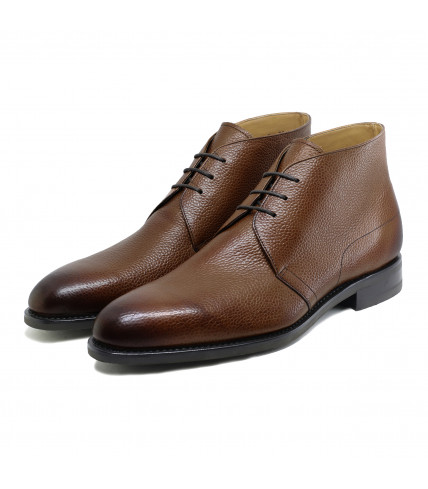 Dressed Chukka Boots Rodney 368 grained leather